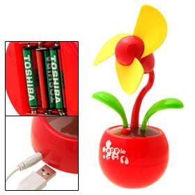 USB Flower Fan-0